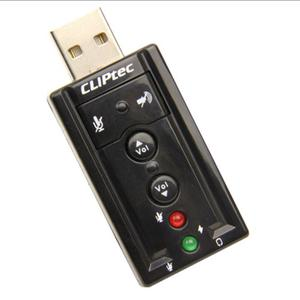 CLiPtec U-SOUND USB 7.1CH Virtual Sound Card - BMA230