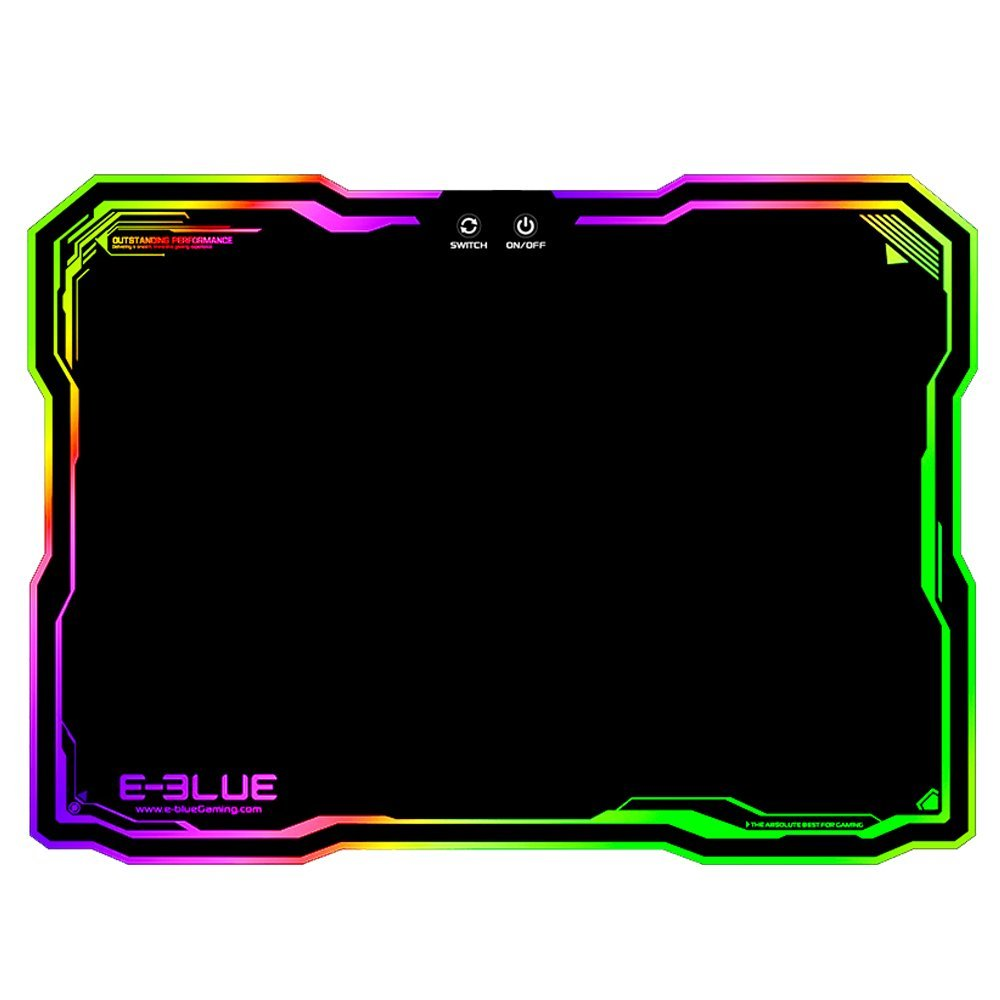 E Blue Flashy Rgb Gaming Mousepad Blossom Toko Komputer